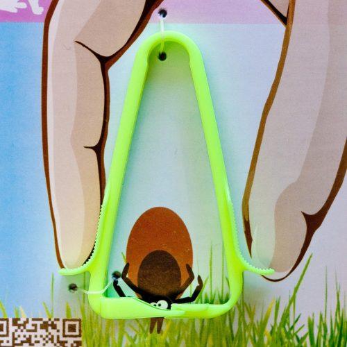 ZeckenDoc Zeckenzange NeonGelb