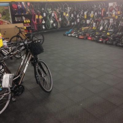 Industrieboden Gewerbeboden Jp Mechanic Light Pvc Fliese Platte Geschäft Geschäftsraum Fahrradgeschäft