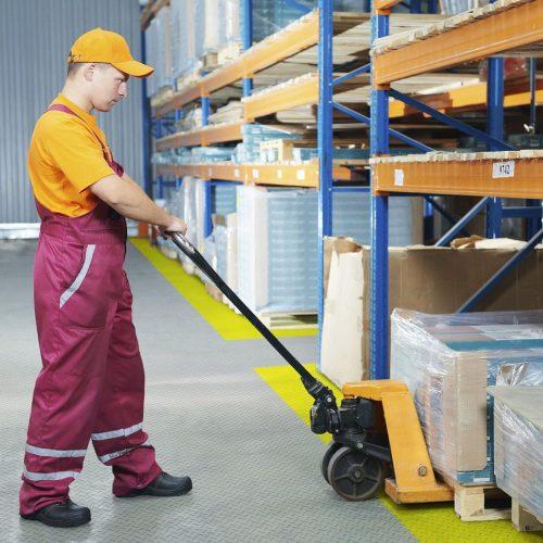 PVC-Boden für Industrie & Handel