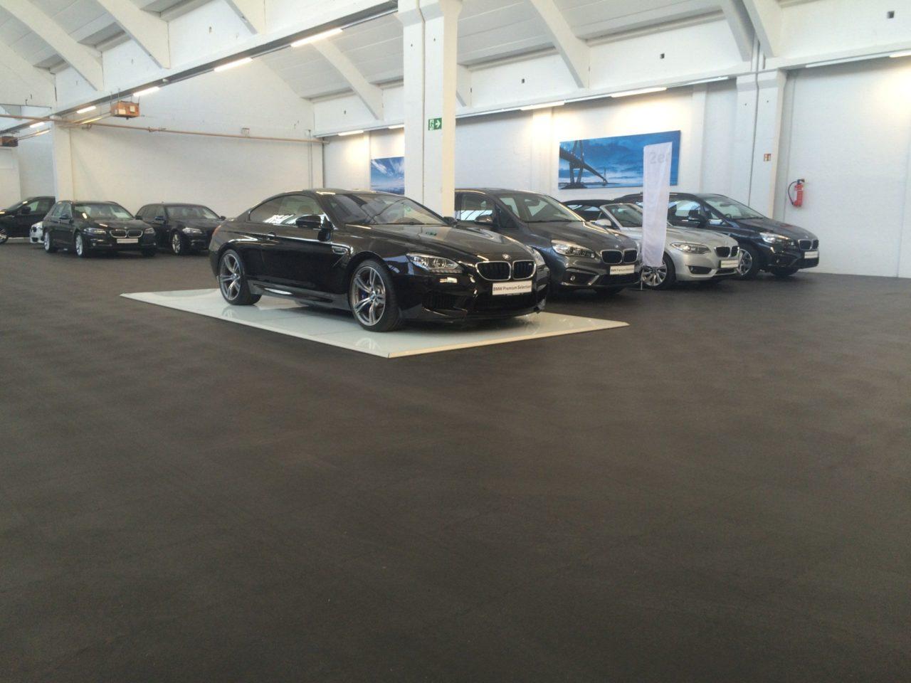 pvc-garagenboden mit klicksystem aus fliesen/platten – pvc