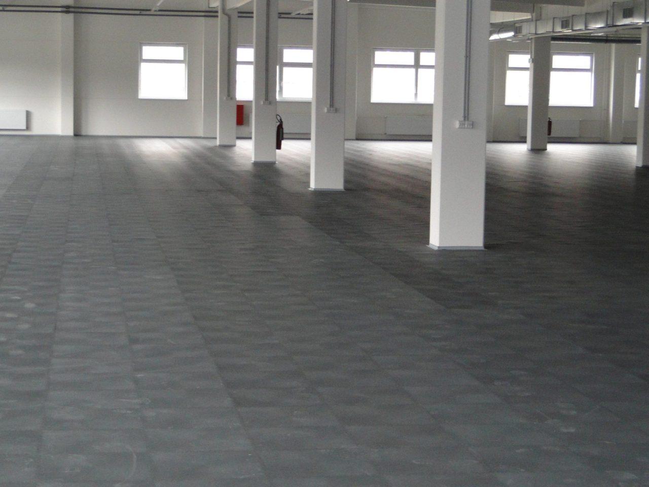 Sehr PVC Industrieboden & Industriefußboden fugenlos als GC27