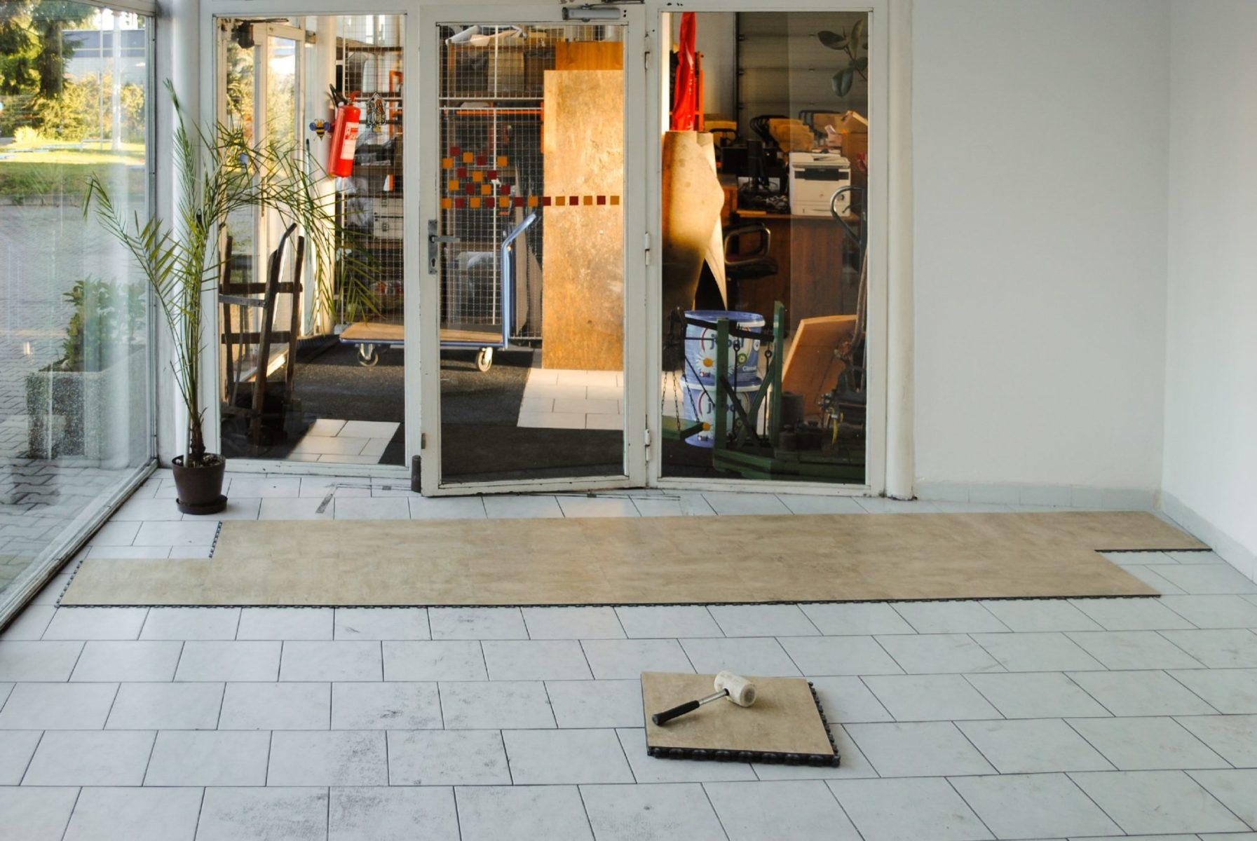 Jp Business Decor Pvc Tile Flooring