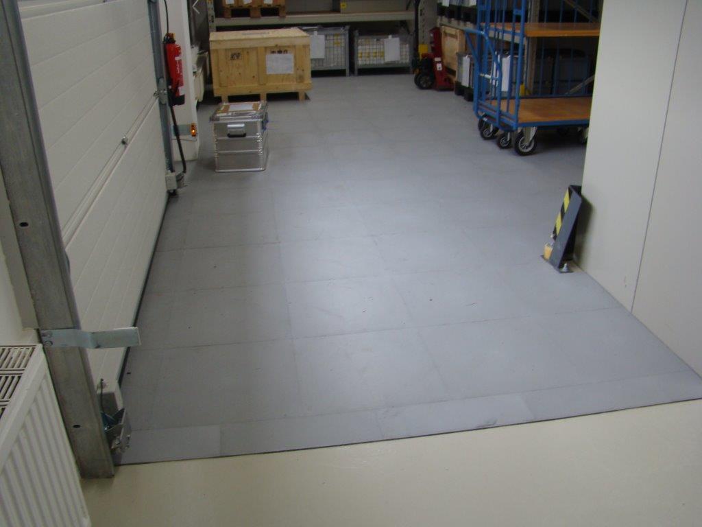 jp industrial - pvc tile / flooring - jäger-plastik