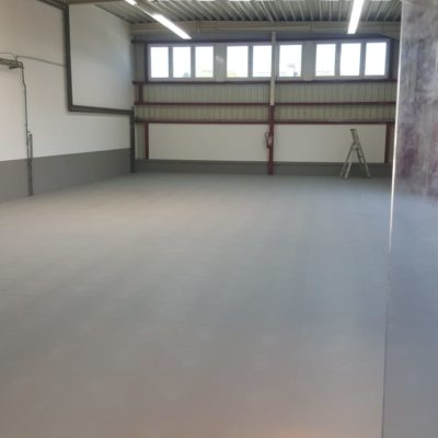 Pvc Fliese Boden Platte Jp Industrial Orangenahaut Verdeckte Verbindung Industrie Boden Handel Verkehrsgrau
