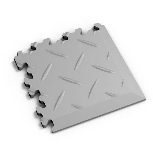 Pvc Fliese Boden Platte Jp Mechanic Ecke Grau Diamantstruktur Industrie Mechanik
