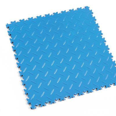 pvc-fliese-boden-platte-jp-mechanic-elektrikblau-diamantstruktur-industrie-mechanik