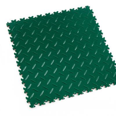 pvc-fliese-boden-platte-jp-mechanic-grün-diamantstruktur-industrie-mechanik