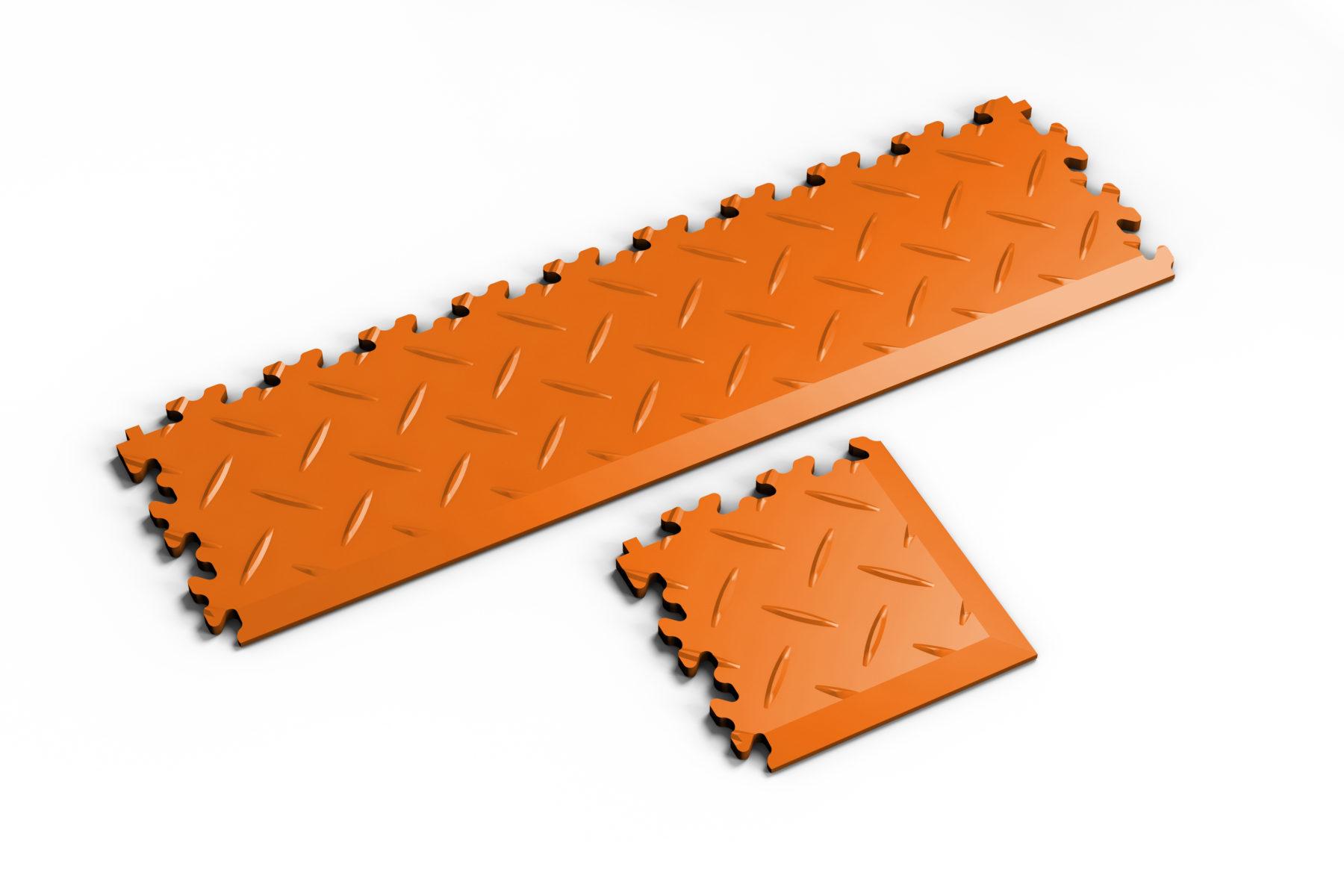 pvc-fliese-boden-platte-jp-mechanic-rampe-ecke-orange-diamant-industrie-mechanik