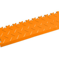 pvc-fliese-boden-platte-jp-mechanic-rampe-orange-diamantstruktur-industrie-mechanik