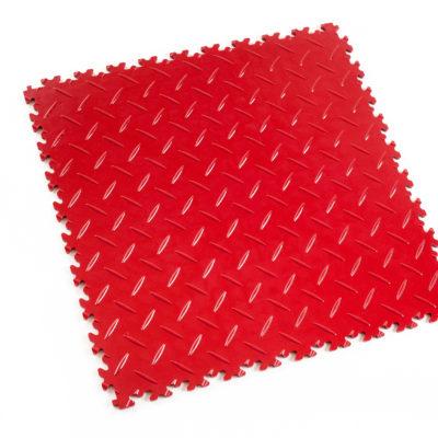 pvc-fliese-boden-platte-jp-mechanic-rosso-rot-diamantstruktur-industrie-mechanik