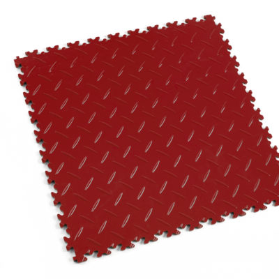 pvc-fliese-boden-platte-jp-mechanic-rot-diamantstruktur-industrie-mechanik