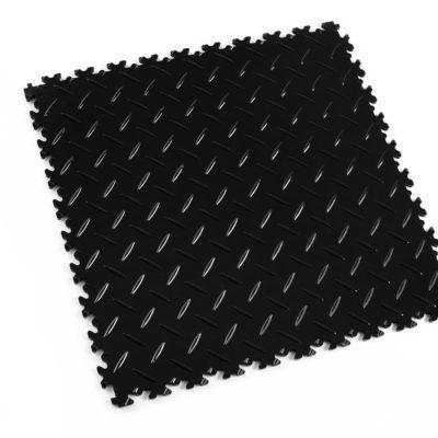 pvc-fliese-boden-platte-jp-mechanic-schwarz-diamantstruktur-industrie-mechanik